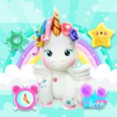 Cute Rainbow Unicorn Launcher Theme icon