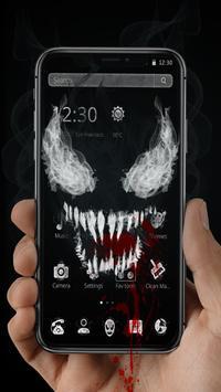 Black Scary Devil Theme👹 screenshot 1