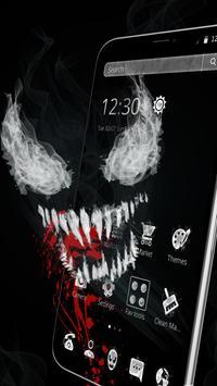 Black Scary Devil Theme👹 screenshot 2