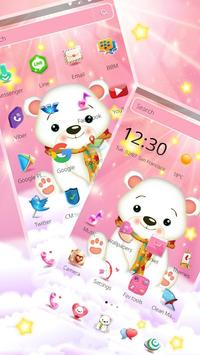 Cute Polar Bear Theme🐨 screenshot 3