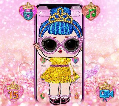Shiny Lol Glitter Girl Theme poster