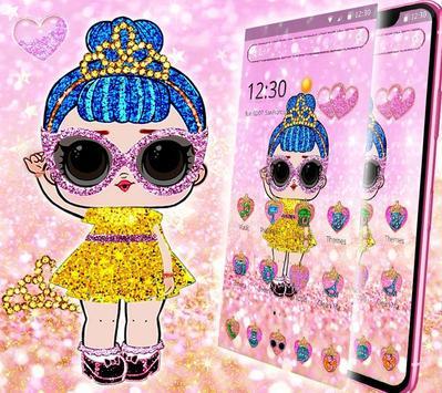 Shiny Lol Glitter Girl Theme screenshot 1