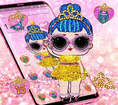 Shiny Lol Glitter Girl Theme screenshot 2
