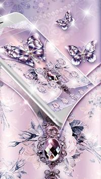 Purple Diamond Silk Butterfly screenshot 2