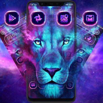 Glitter Lion King Animal Launcher poster
