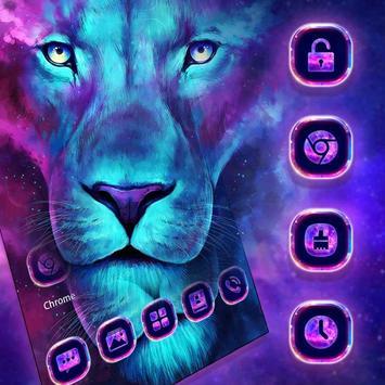 Glitter Lion King Animal Launcher screenshot 1