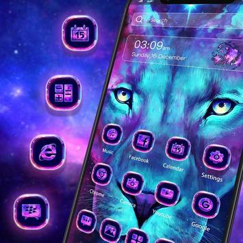 Glitter Lion King Animal Launcher screenshot 2