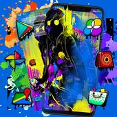 Hip Hop Music Man Launcher icon