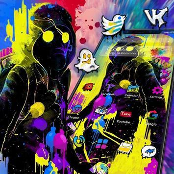 Hip Hop Music Man Launcher poster