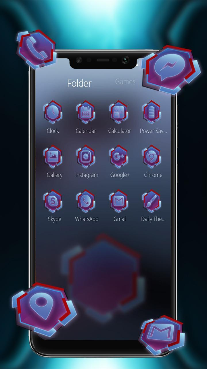 Tech Theme Hexahedron for POCO F1 for Android - APK Download
