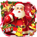 Joyful 3D Red Christmas Theme APK