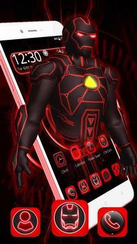 3D Red Iron Superhero Theme🤖 poster