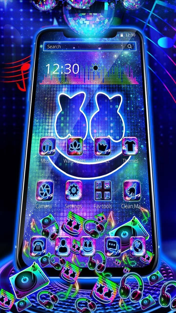 3D DJ Cool Mello Gravity Theme for Android - APK Download
