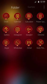 3D Red Rose Parallax Theme screenshot 5