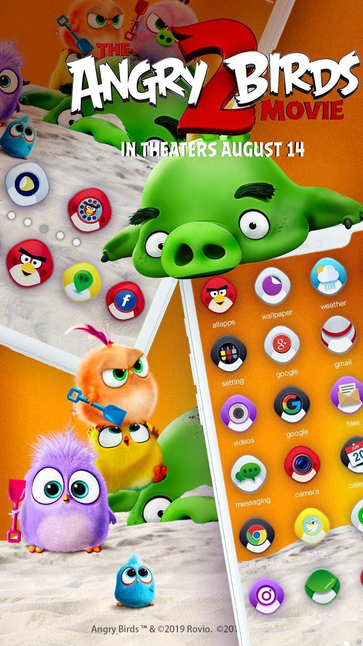 Angry Birds 2 Game Themes Live Wallpapers For Android Apk Download