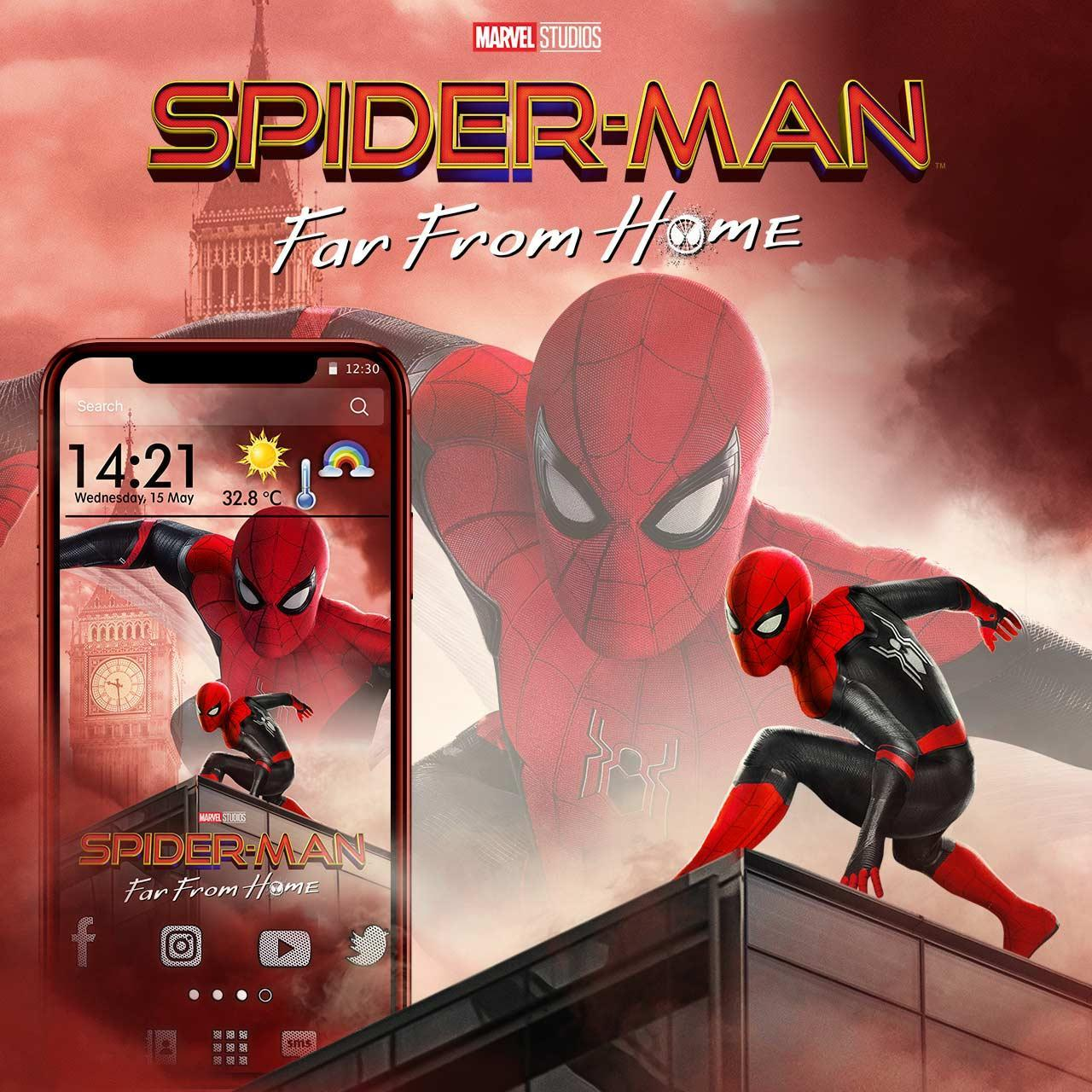 Spider Man Far From Home Themes Live Wallpapers For Android