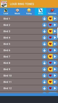 Loudest Ringtones Funny Ringtones Birds Ringtones screenshot 11