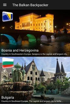 The Balkan Backpacker screenshot 4