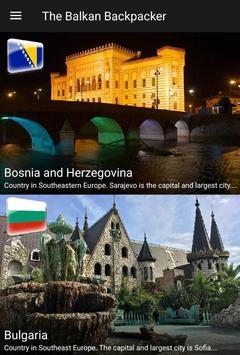 The Balkan Backpacker poster