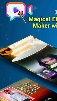 Magical Effect Video Maker with Music poster