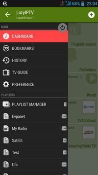LAZY IPTV screenshot 1