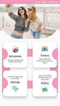 Selfie Beauty Camera Pro 2019 : Photo Editor Pro screenshot 1