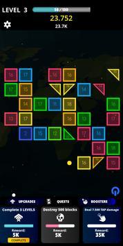 Idle Bricks Breaker Balls screenshot 1