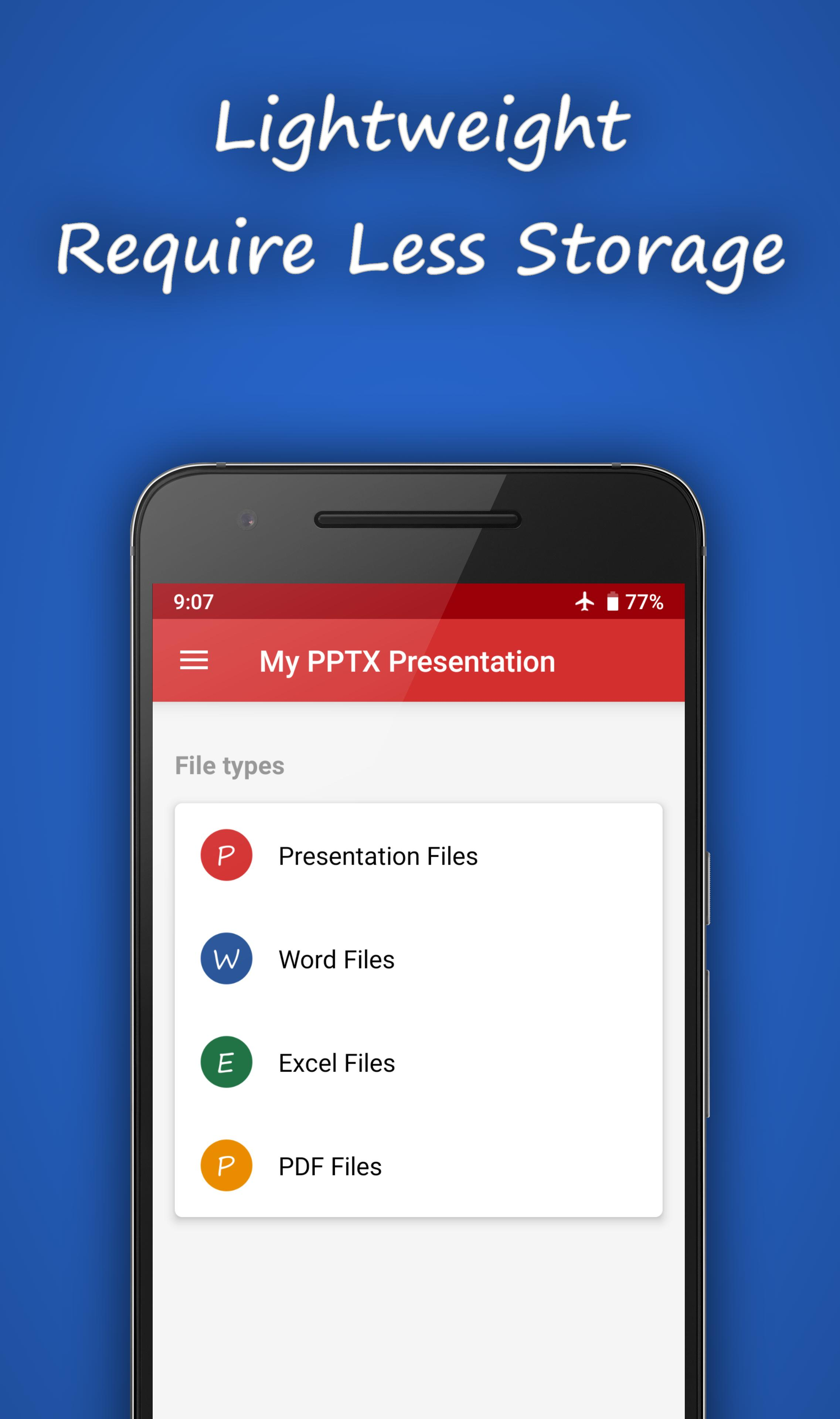 My PPTX Presentation for Android - APK Download