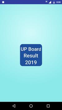 UP Board Result 2019 Class 10th 12th poster