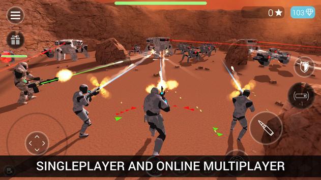 CyberSphere: TPS Online Action-Shooting Game الملصق