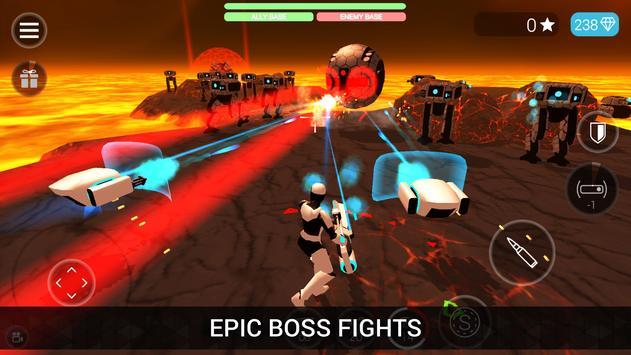CyberSphere: TPS Online Action-Shooting Game تصوير الشاشة 10