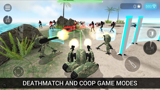 CyberSphere: TPS Online Action-Shooting Game تصوير الشاشة 1