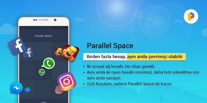 Parallel Space-Çoklu hesap Ekran Görüntüsü 4
