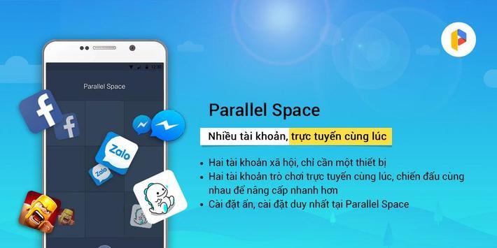 Parallel Space-Nhiều tài khoản ảnh chụp màn hình 4