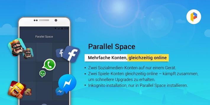 Parallel Space-Mehrfachkonten Screenshot 4