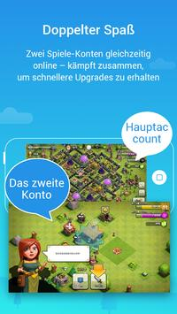 Parallel Space-Mehrfachkonten Screenshot 2