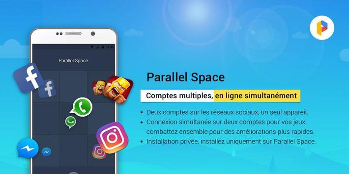 Parallel Space-Multicompte capture d'écran 4