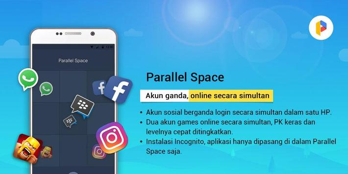 Parallel Space-Akun Berganda syot layar 5