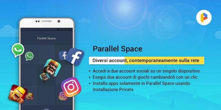 4 Schermata Parallel Space-Multi Account