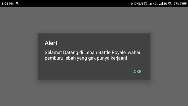 Lebah Battle Royale poster