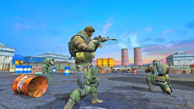 Modern Commando Strike : Free Shooting Games screenshot 4