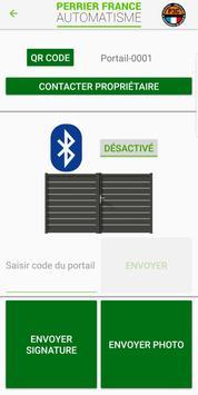 PFA Portail Bluetooth screenshot 1
