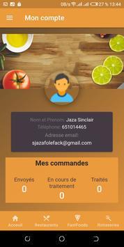 Food delivery screenshot 7