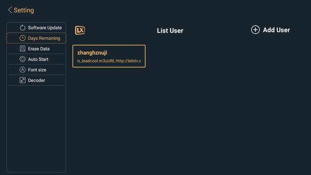 Lxtream Player screenshot 5