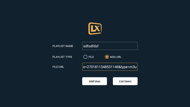 Lxtream Player screenshot 6