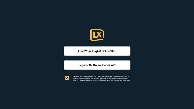 Lxtream Player screenshot 2