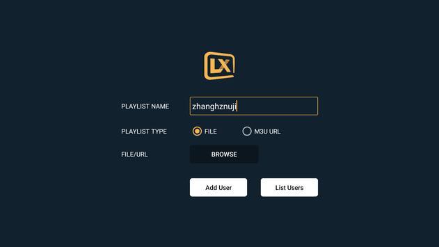 Lxtream Player screenshot 3