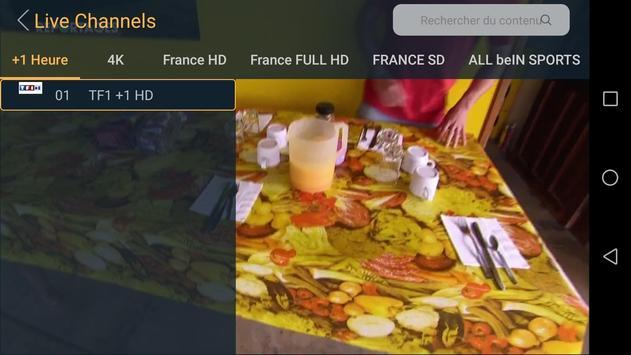 Lxtream Player capture d'écran 4