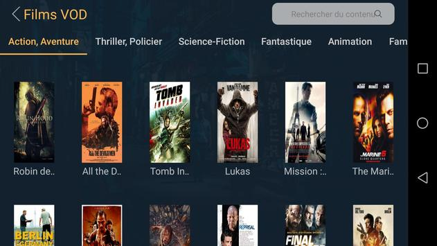 Lxtream Player capture d'écran 11