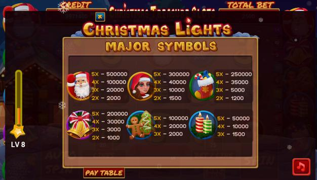 christmas treasure slots screenshot 3